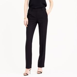 J Crew Campbell Trouser Black 4 Tall